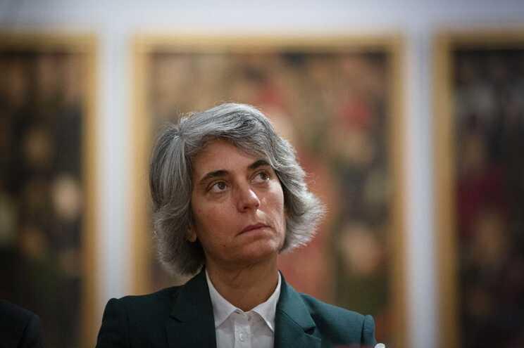 A ministra da Cultura, Graça Fonseca