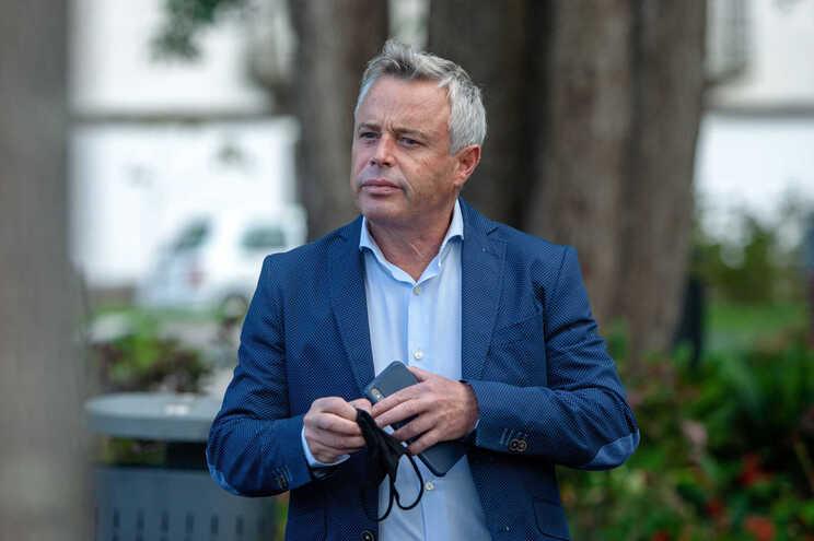 O líder do Aliança/Açores e candidato pelos círculos da Terceira de compensação, Paulo Silva
