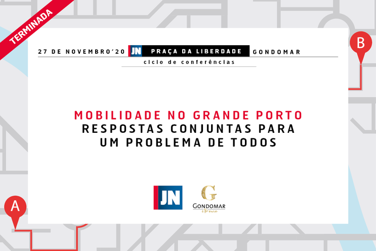 Conferência JN | C.M. Gondomar - Mobilidade no Grande Porto: respostas conjuntas para um problema de