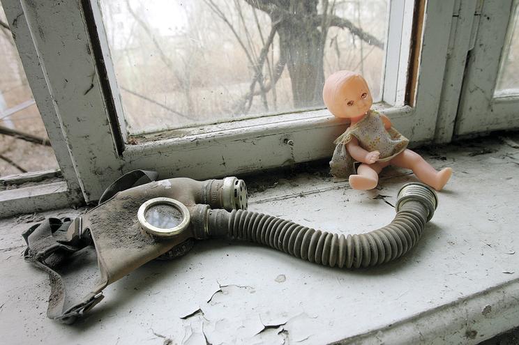 Ao fim de 35 anos, apenas os fantasmas vivem em Chernobyl