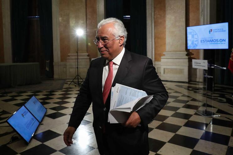 Primeiro-ministro, António Costa, falou hoje ao país