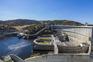 A Barragem do Alqueva é a maior barragem portuguesa e da Europa Ocidental, situada no rio Guadiana, no