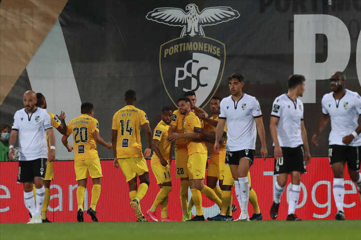 Portimonense venceu o V. Guimarães