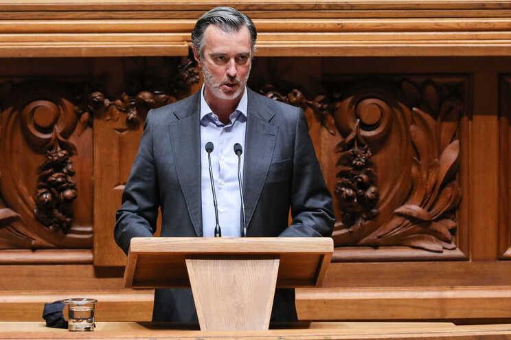 Presidente da Iniciativa Liberal, João Cotrim Figueiredo