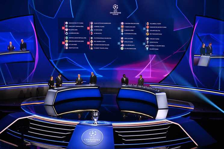 F.C. Porto, Sporting e Benfica ficaram a conhecer os adversários na fase de grupos da Liga dos Campeões