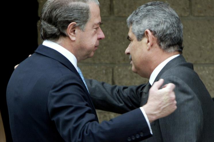 Vieira e Salgado eram próximos nos primeiros anos da presidência do Benfica