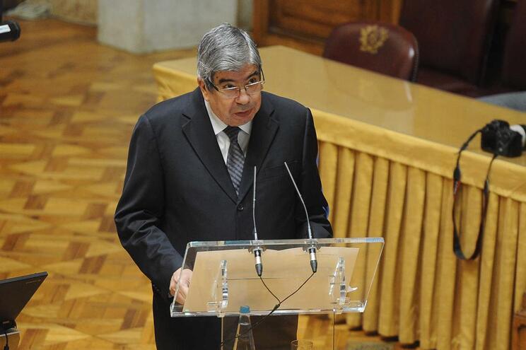 O presidente da Assembelia da República, Ferro Rodrigues