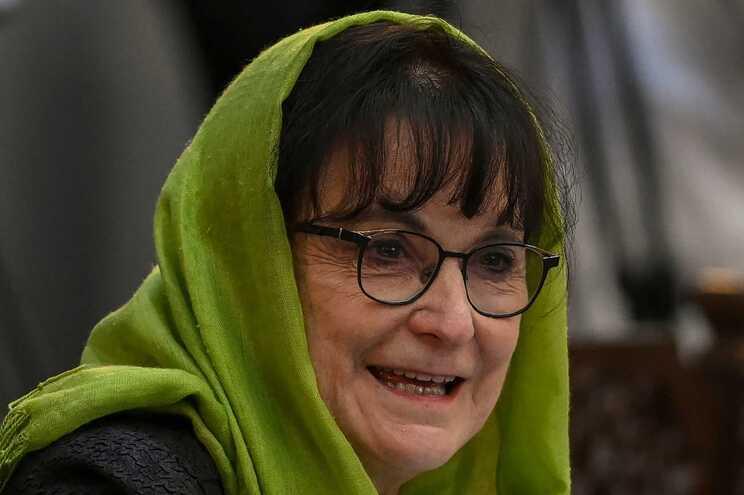 Enviada da ONU para o Afeganistão, Deborah Lyons