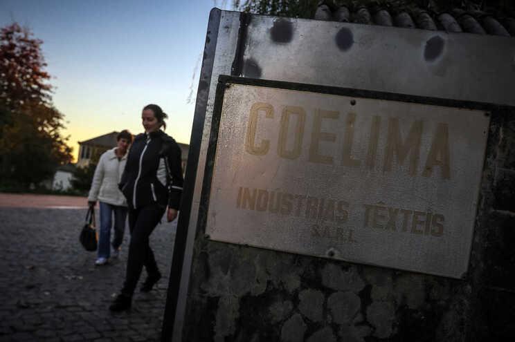 Os cerca de 250 trabalhadores da Coelima têm idade média de 51 anos