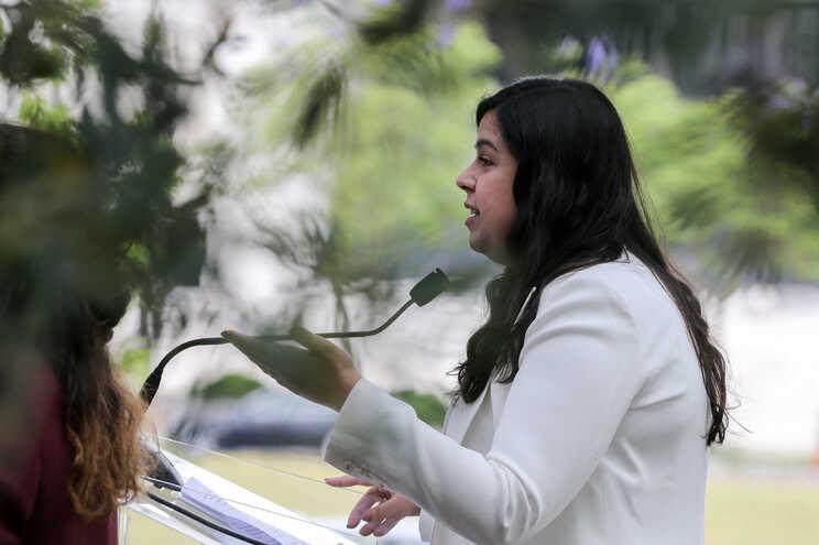 A porta-voz do PAN,Inês de Sousa Real