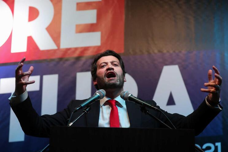 André Ventura, líder do Chega