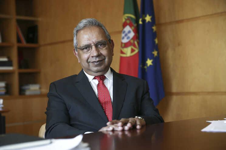 Ministro do Planeamento, Nelson de Souza, responsável pela coordenação dos fundos europeus