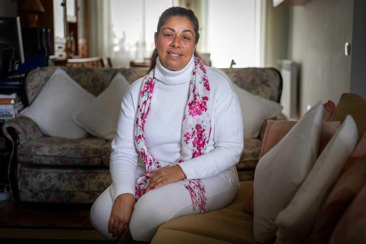 Célia Moura, 48 anos. Assistente Operacional no C. H. do Médio Ave