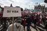 Milhares de pessoas manifestam-se contra extrema-direita em Itália