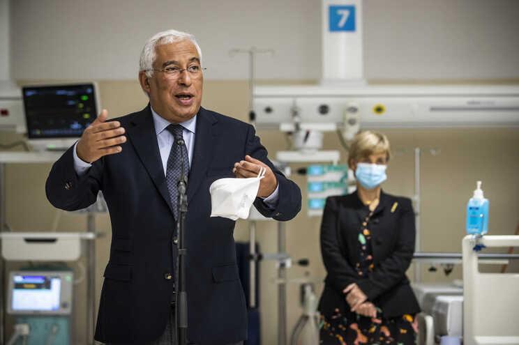 António Costa na inauguração da nova Unidade de Cuidados Intensivos do Hospital Professor Doutor Fernando