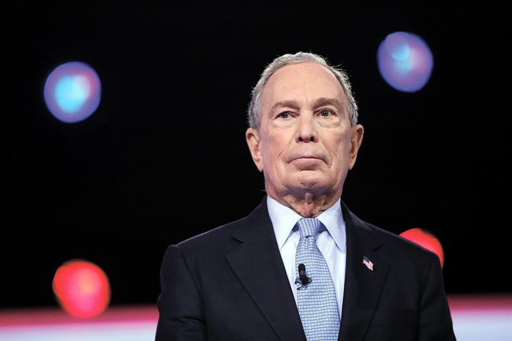 Michael Bloomberg é o campeão do financiamento de campanha