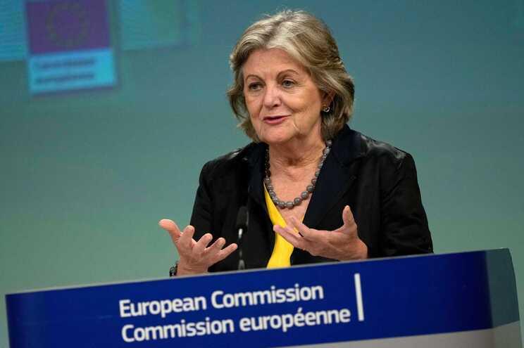 A comissária europeia Elisa Ferreira
