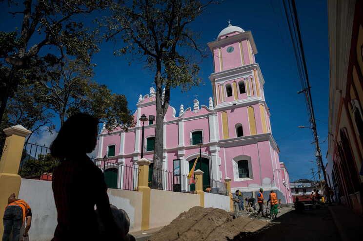 Igreja do Doce Nome de Jesus, em Sucre