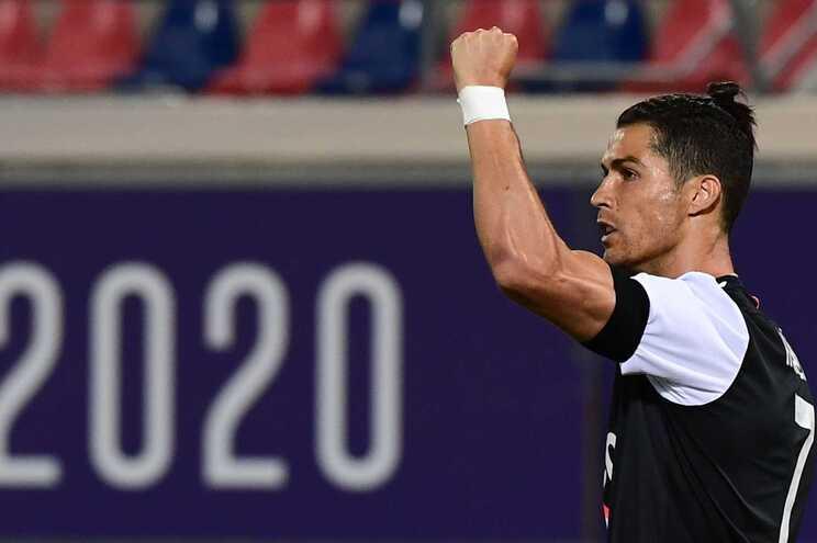 Cristiano Ronaldo marcou esta segunda-feira