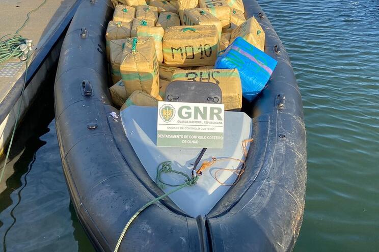 Quatro toneladas de haxixe apreendidas no Guadiana