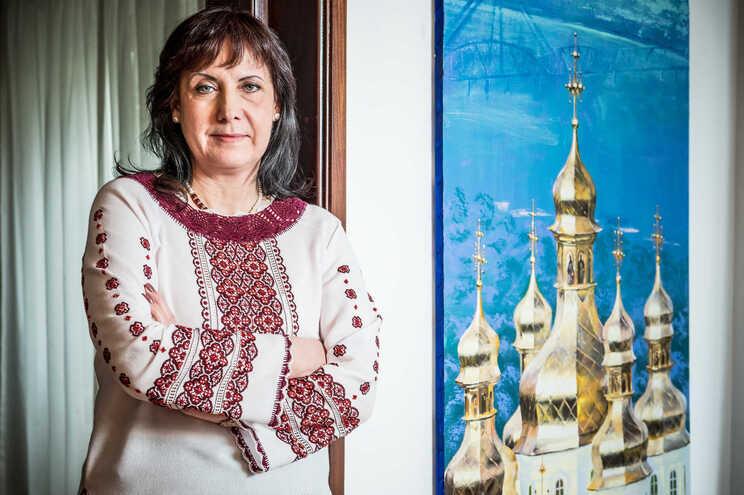 Irina Ohnivets, embaixadora da Ucrânia em Portugal