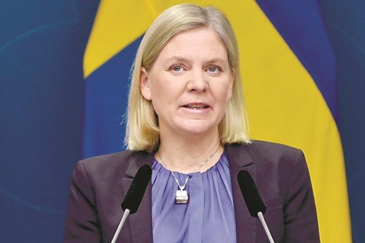 Magdalena Andersson, ministra sueca das Finanças