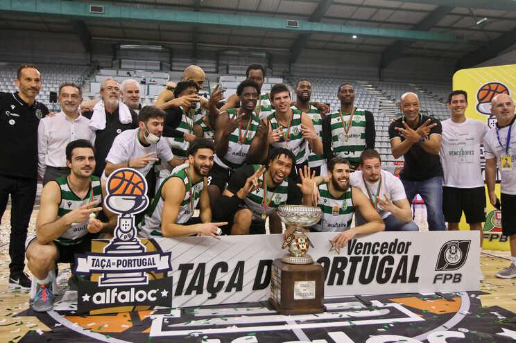 O Sporting conquistou a Taça de Portugal este domingo