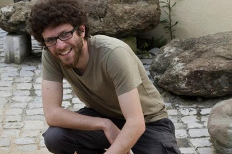 O paleontólogo Ricardo Araújo, o autor principal do artigo sobre a descoberta