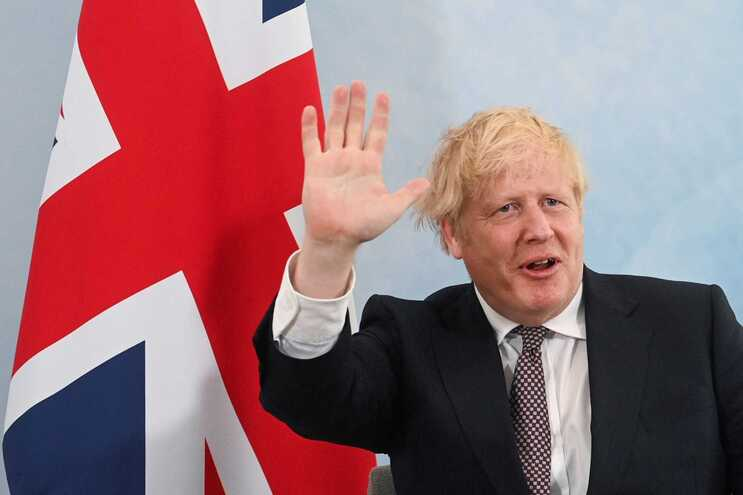 Boris Johnson, primeiro-ministro britânico