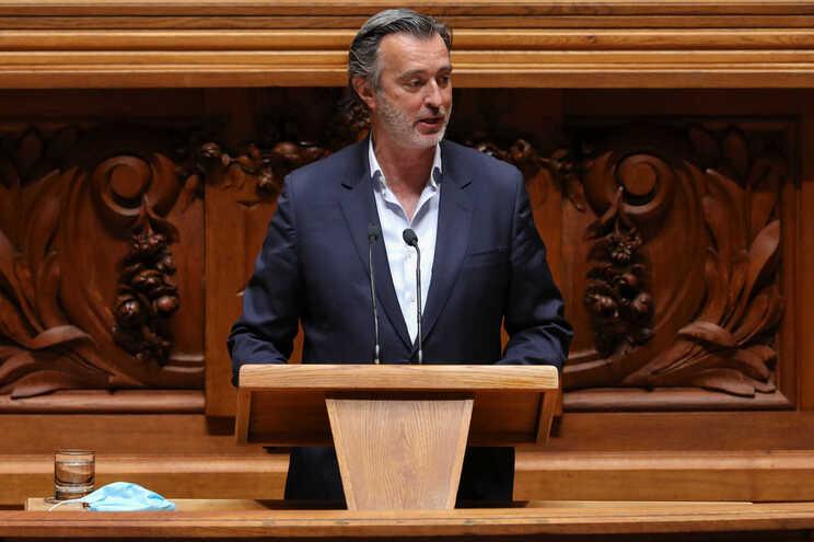 O deputado da Iniciativa Liberal, João Cotrim Figueiredo