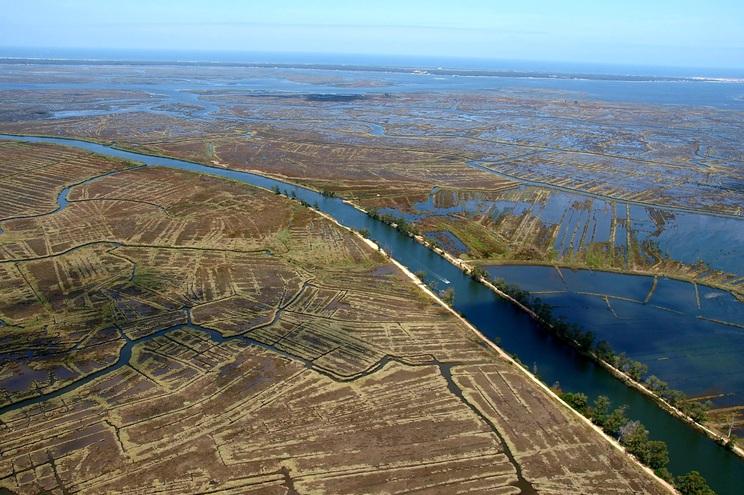 Na região de Aveiro será consolidada a margem esquerda do rio Vouga e protegidos os terrenos agrícolas