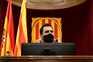 Roger Torrent, presidente do Parlamento Regional da Catalunha
