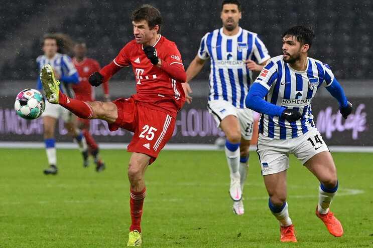 Bayern de Munique ganhou ao Hertha de Berlim