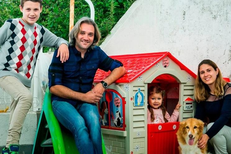 Helena Girão, Pedro Rodrigues e os filhos Eduardo e Beatriz estiveram emigrados no Grão-Ducado com a