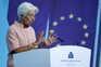 A presidente do Banco Central Europeu, Christine Lagarde