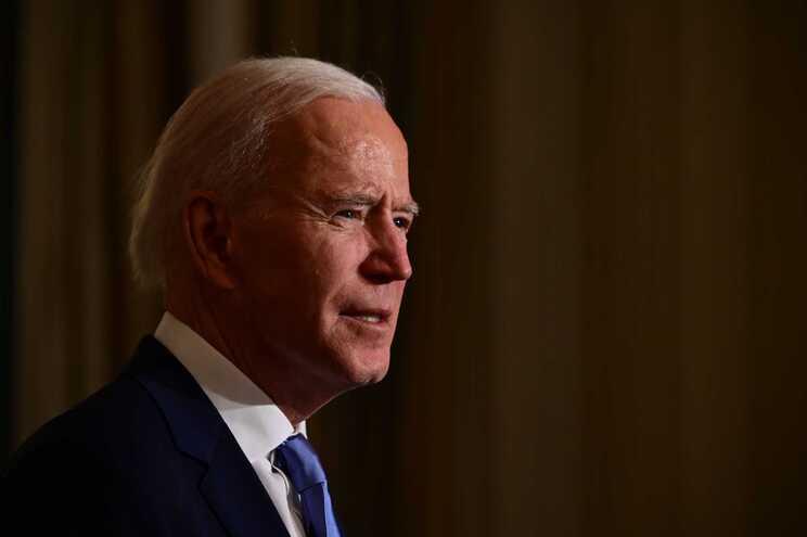 O presidente dos Estados Unidos da América, Joe Biden