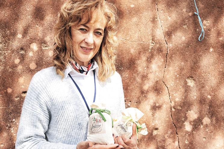 Isabel Nogueira vende produtos biológicos, sem químicos