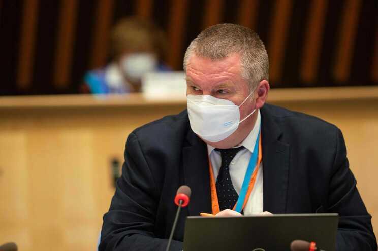 Michael Ryan, responsável da Organização Mundial da Saúde (OMS) pela área das emergências sanitárias