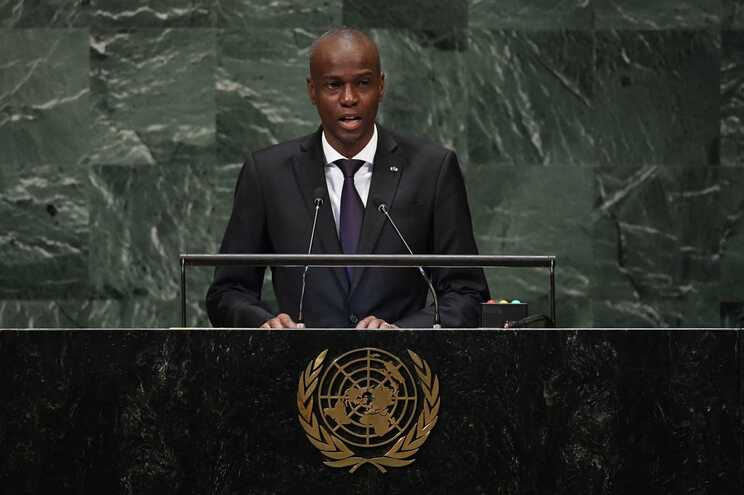 Jovenel Moise, presidente do Haiti, em 2018