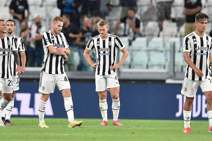 A Juventus perdeu este sábado