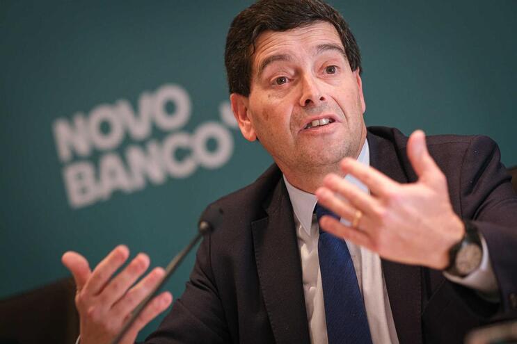 António Ramalho, CEO do Novo Banco, o último a apresentar resultados