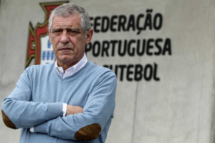 Fernando Santos, selecionador português de futebol