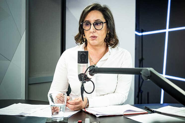 Rosa Monteiro, secretária de Estado para a Cidadania e a Igualdade