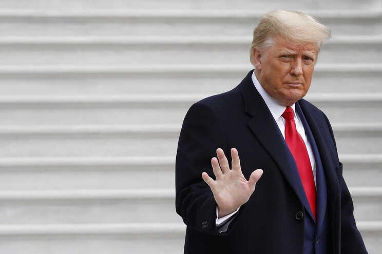 Donald Trump abandonará Washington na manhã de quarta-feira, horas antes da tomada de posse de Joe Biden