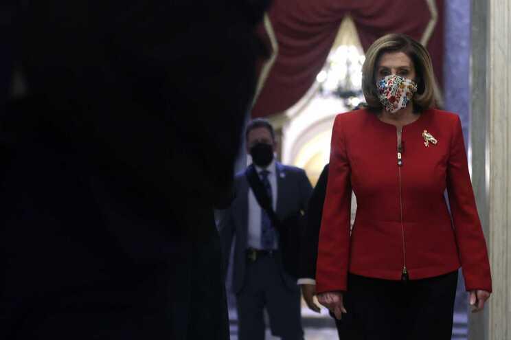 A presidente da Câmara de Representantes dos EUA, a democrata Nacy Pelosi