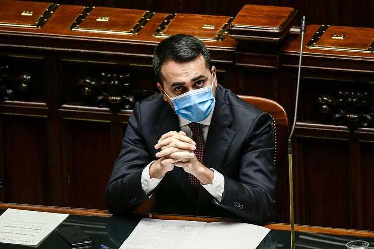 Luigi de Maio, ministro dos Negócios Estrangeiros de Itália