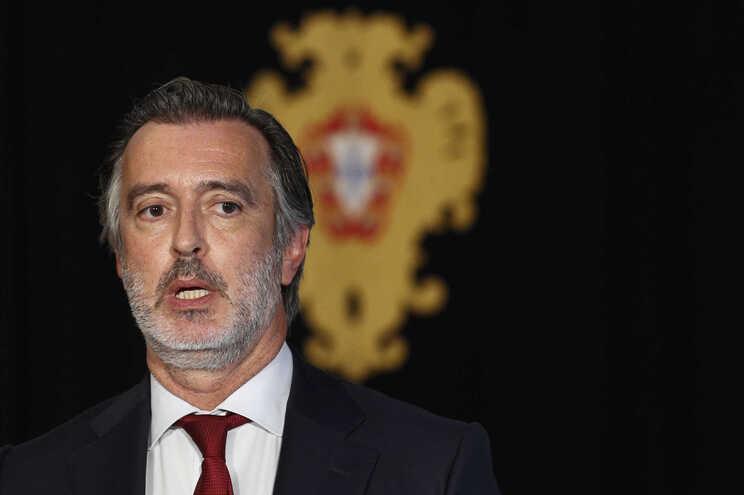 O presidente da Iniciativa Liberal (IL), João Cotrim de Figueiredo