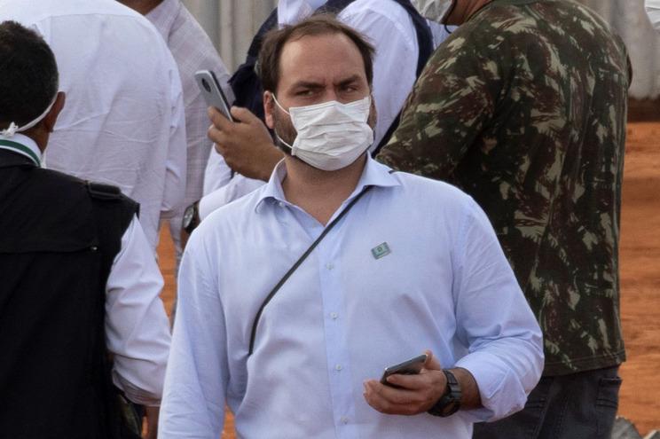 Carlos Bolsonaro, filho de Jair Bolsonaro