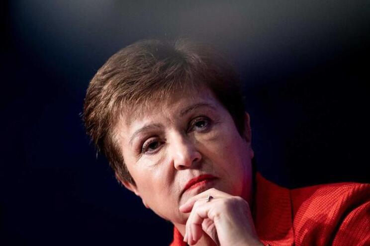 Kristalina Georgieva, diretora-geral do FMI