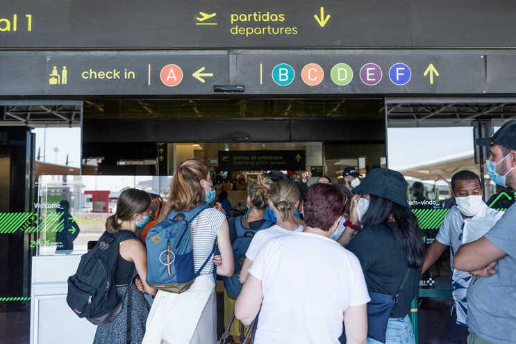 Greve da GroundForce no aeroporto de Lisboa